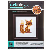 Fox Mini Counted Cross Stitch Kit